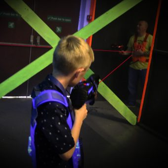 Laser Tag Games Selby Red Vs Blue