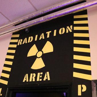 Radiation Area Sign