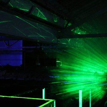 Lazer Zone Lazer Projection Ready Square